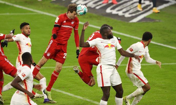 Бавария - РБ Лейпциг 3:3. Лидер остается прежним
