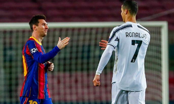 Барселона - Ювентус 0:3. Когда у Роналду есть команда, а у Месси - нет