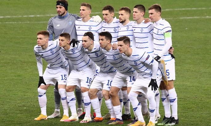 Определились потенциальные соперники киевского Динамо в 1/16-й финала ЛЕ