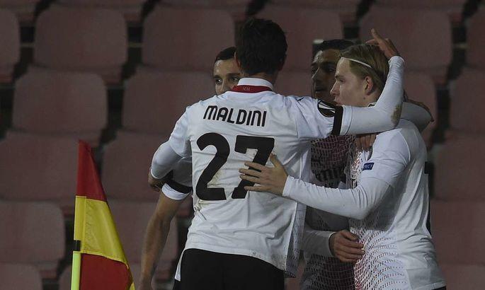 Спарта - Милан 0:1. Россонери побеждают в своей группе