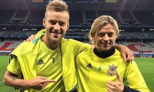 У Ярмоленко с Тимощуком есть договоренность по поводу количества матчей за сборную Украины
