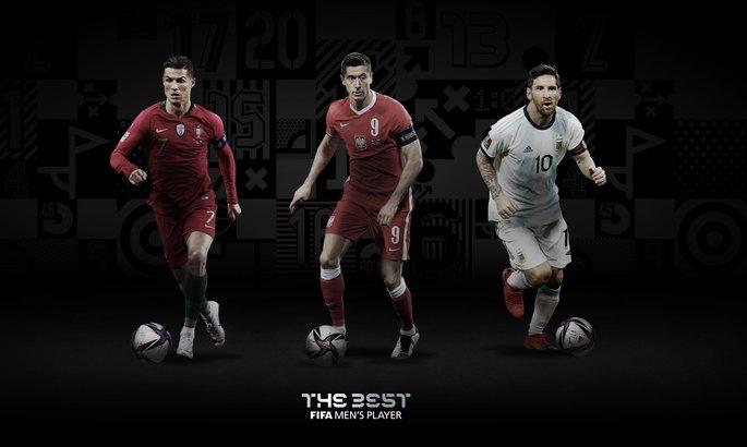 Месси, Роналду, Левандовский. Названы три претендента на премию FIFA: The Best