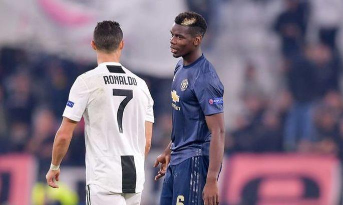 СМИ: Ювентус рассмотрит вариант обмена Роналду на Погба