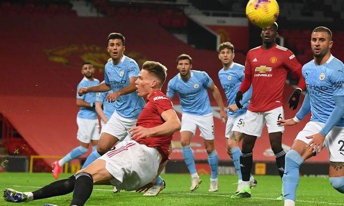 Манчестер Юнайтед - Манчестер Сити 0:0. Не так не могли, как не хотели рисковать