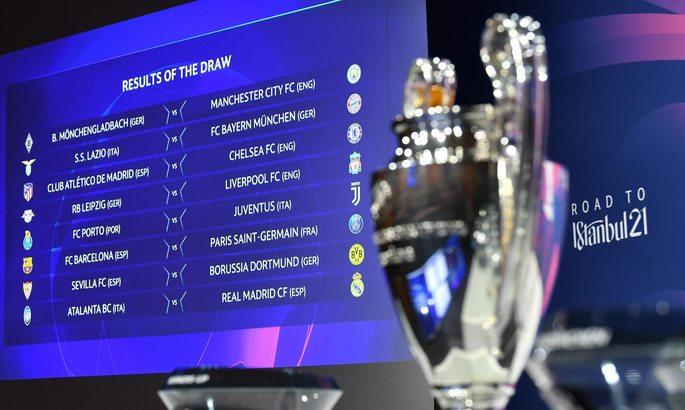 Починають в Барселоні, закінчують в Лондоні. Став відомий календар матчів 1/8 ЛЧ
