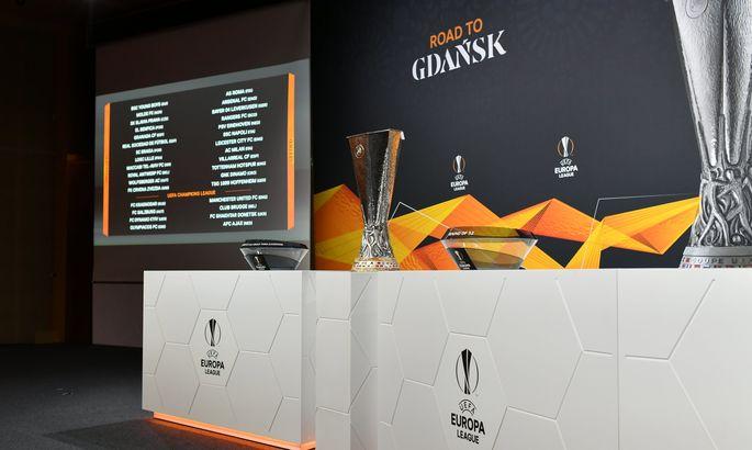 УЕФА утвердил даты и время начала матчей Шахтера и Динамо в 1/16 финала Лиги Европы