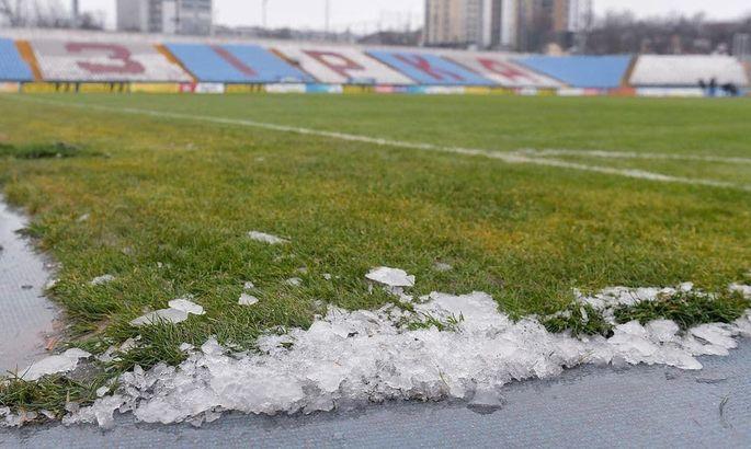 Стоимость работы подогрева на стадионе Зирка составляет 70 тысяч гривен в сутки