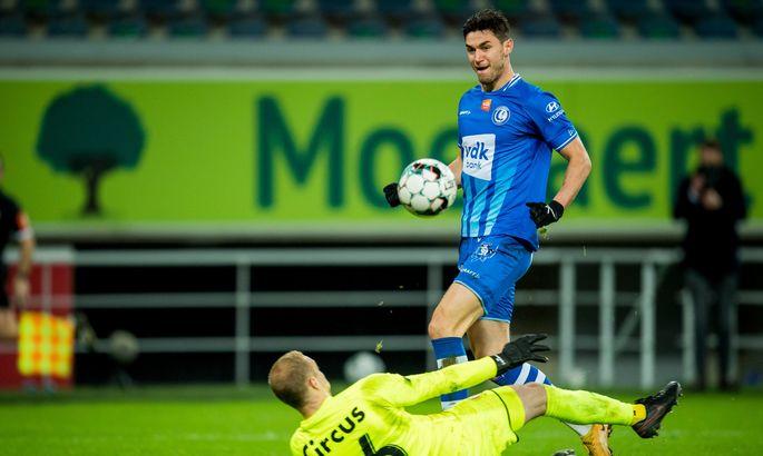 Яремчук в 100-му матчі в чемпіонаті Бельгії забив гол, який вивів його в топ-10 бомбардирів в історії клубу
