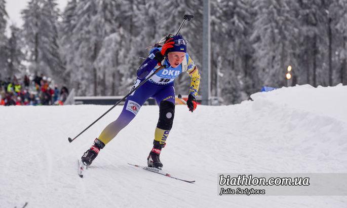 Кубок IBU. Украинские девушки - четвертые в эстафетной гонке в Арбере