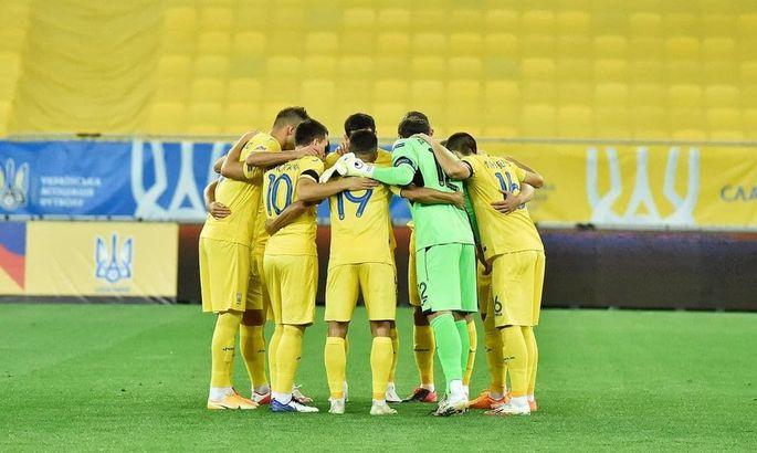 Сборная Украины в рейтинге ФИФА повторила свой лучший результат за последние семь лет