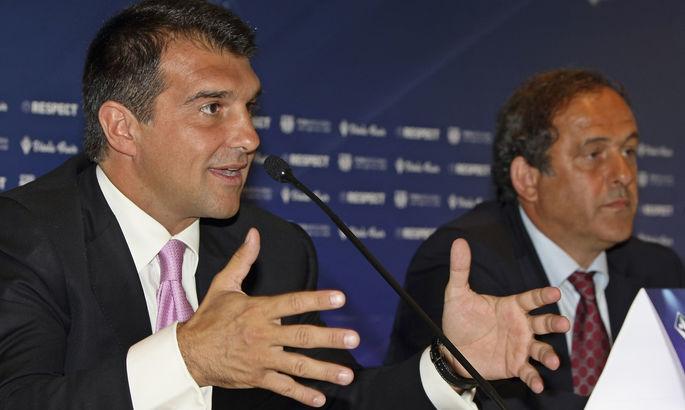 Кандидат в президенты Барселоны видит в Суперлиге способ преодолеть кризис