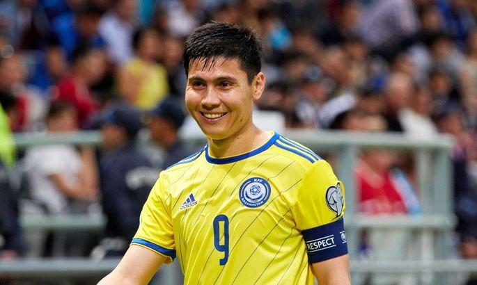 Капитан сборной Казахстана дисквалифицирован на два года за допинг и не сыграет с Украиной в отборе ЧМ-2022