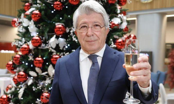 Президент Атлетико: Мы наслаждаемся самым успешным десятилетием клуба