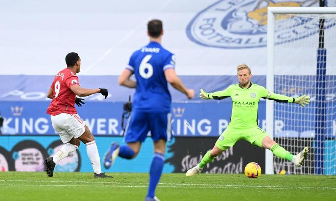 Лестер - Манчестер Юнайтед 2:2. Погоня по кругу