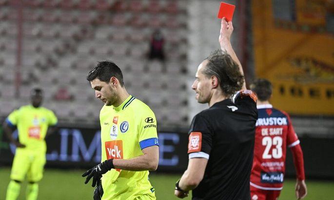 Бельгия. Яремчук за свою красную карточку получил одноматчевую дисквалификацию