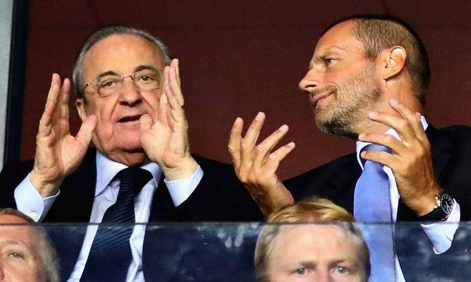 Президент УЄФА: Флорентіно Перес мріє про Суперлігу вже 30 років