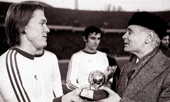День в истории. 45 лет назад Олег Блохин выиграл Золотой мяч