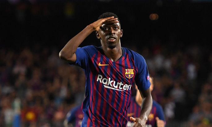 Барселона хочет получить 50 млн евро за Дембеле