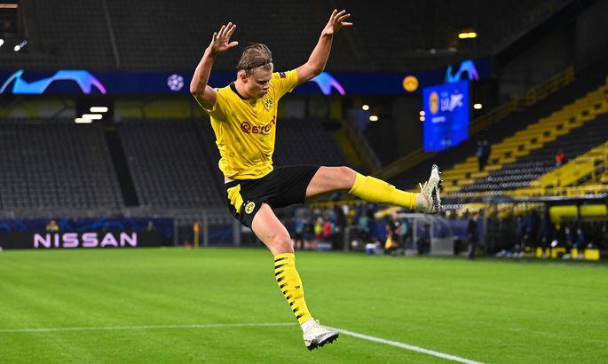 Эрлинг Холанд стал вторым игроком своего возраста в топ-5 лиг, который забил более 40 голов за сезон