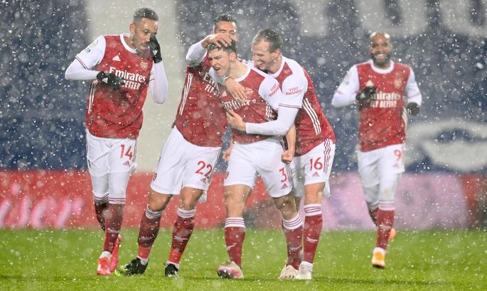 Вест Бромвич - Арсенал 0:4. Канониры разбушевались