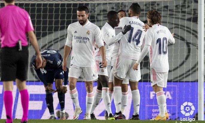 Примера. 17-й тур. Реал - Сельта 2:0. Кудет опасен, но не для Мадрида