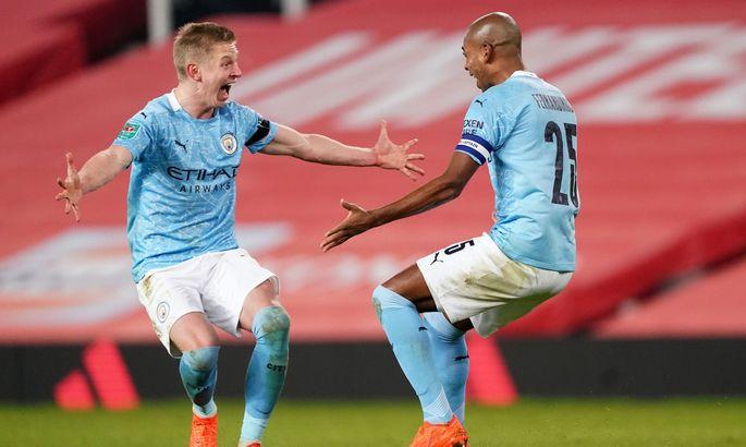 Зинченко получил от Whoscored третью самую низкую оценку в составе Сити за матч с Юнайтед
