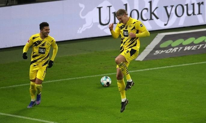 Холанд больше всех забил за 25 матчей и установил рекорд Бундеслиги