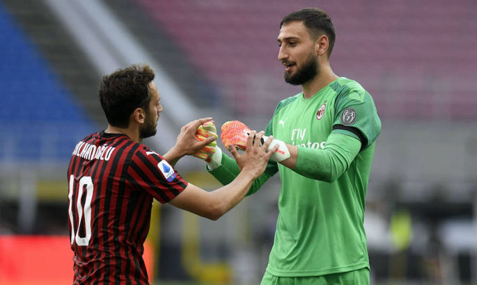 Доннарумма и Чалханоглу вскоре подпишут новые соглашения с Миланом