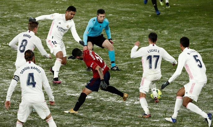 Зидан: Матч с Осасуной нужно было отменить, это не футбол
