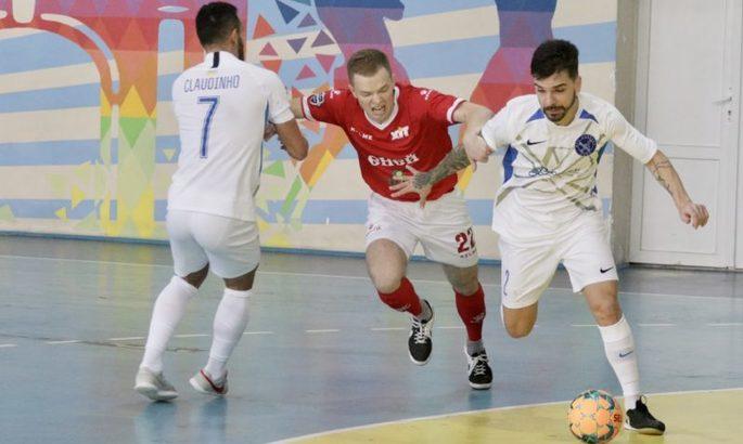 В украинском футзале сыграли безумный матч. Чемпион четырежды отыгрывался и спас ничью в финале