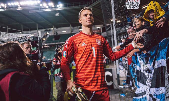 Нойер признан игроком года в сборной Германии по итогам 2020 года