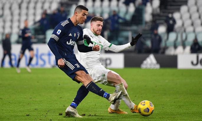 В погоне за Левандовским. Роналду забил 15-й гол в текущей Серии А - ВИДЕО