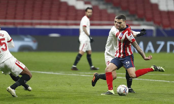 Примера. 1-й тур. Атлетико - Севилья 2:0. Реальный гандикап