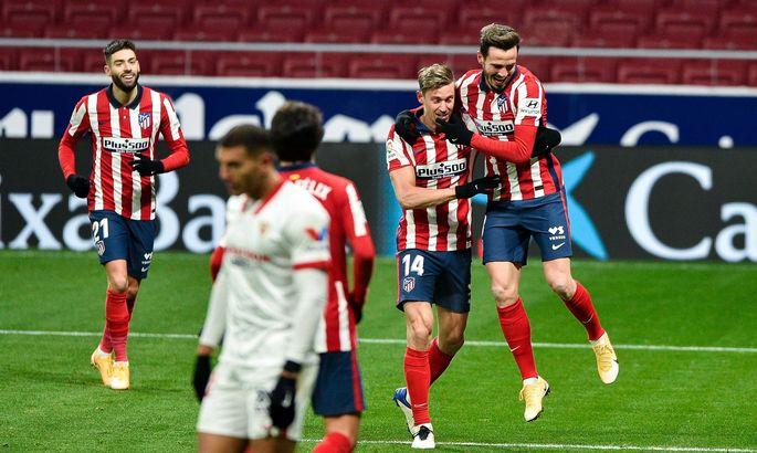 Обеспечивая отрыв. Атлетико - Севилья 2:0. Обзор матча и видео голов