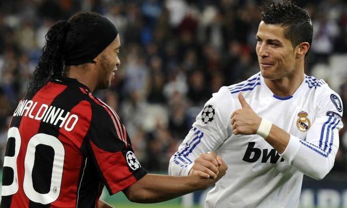 Месси и Роналду могли играть вместе?! Лапорта рассказал, из-за какого игрока Барселона не подписала Криштиану