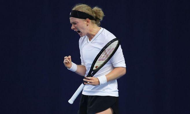Теннисистка без пяти пальцев прошла квалификацию на Australian Open