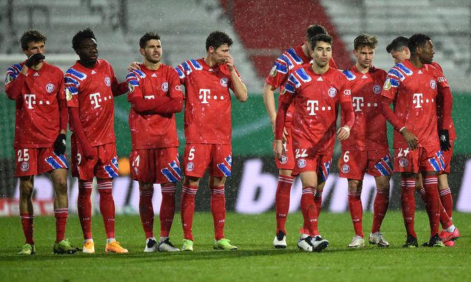 В это трудно поверить. Хольштайн - Бавария 2:2 (пен. 6:5). Видео голов и обзор матча