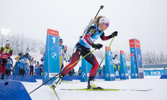 Экхофф выиграла спринт в Оберхофе, украинки не попали в топ-20