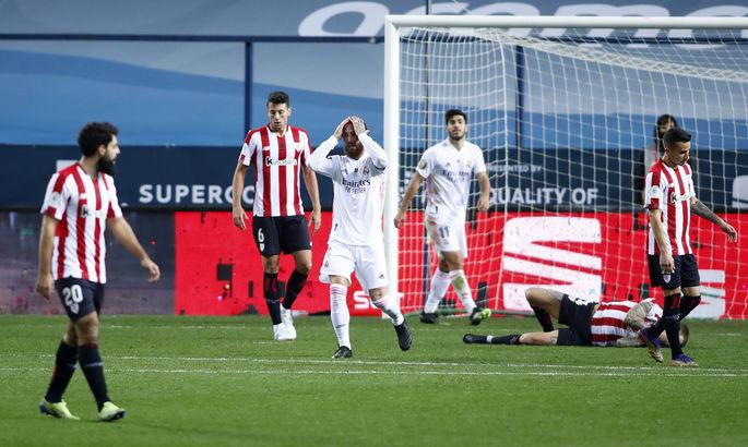 Фатальне невезіння Мадриду. Реал - Атлетік 1:2. Відео голів та огляд матчу