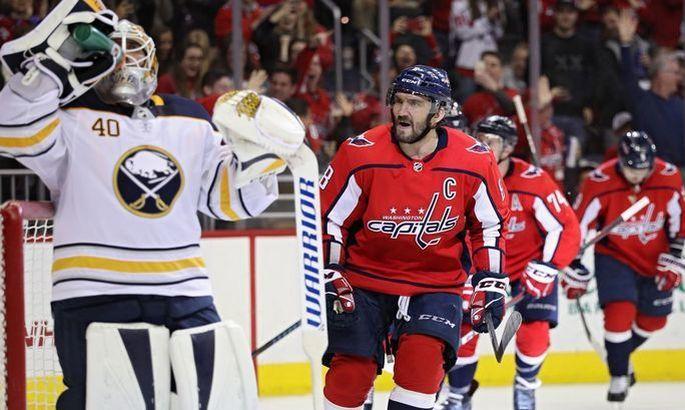 НХЛ: Вашингтон бьет Рейнджерс, разгромы от Флориды и Детройта