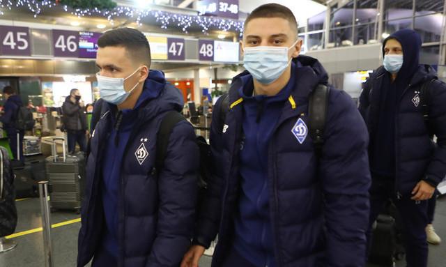 Луческу взял 30 футболистов. Динамовцы отправились на первый сбор