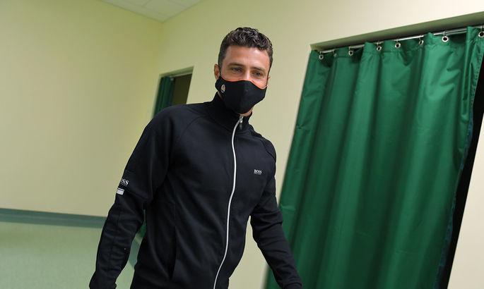 Мораес відновився після травми, яку отримав в кінці минулого року