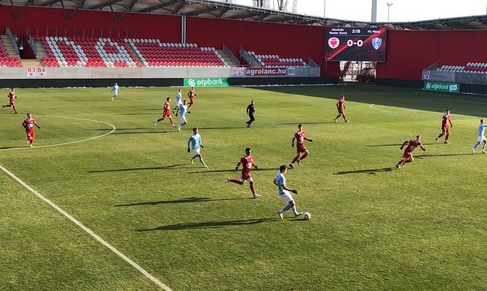 Минай почав перший збір з поразки в грі з угорською Кішвардою