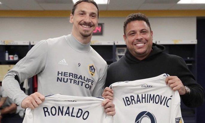Роналдо: Ибра уникален. Даже если бы у меня не было травм, я бы не играл до 40 лет