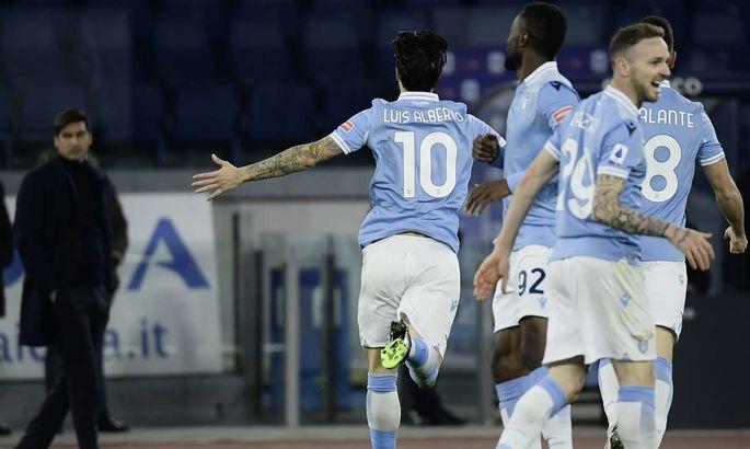 Попробуй, отними. Все футболисты Лацио приняли участие в голевой атаке команды, которая насчитывала 22 передачи