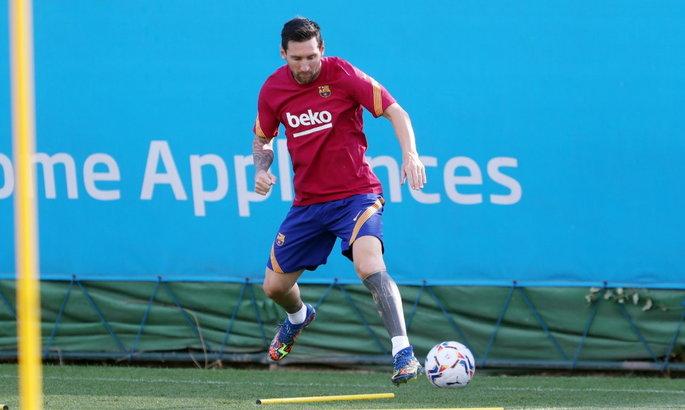 Месси тренировался в общей группе перед матчем за Суперкубок Испании