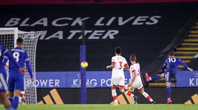 АПЛ. Лестер - Саутгемптон 2:0. Тяжелая победа в динамичном матче равных соперников - изображение 1