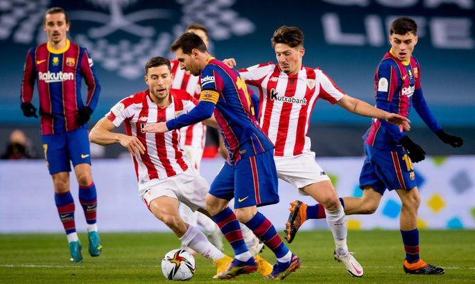 Суперкубок Испании. Барселона - Атлетик 2:3. Характер сильнее трофейной жажды