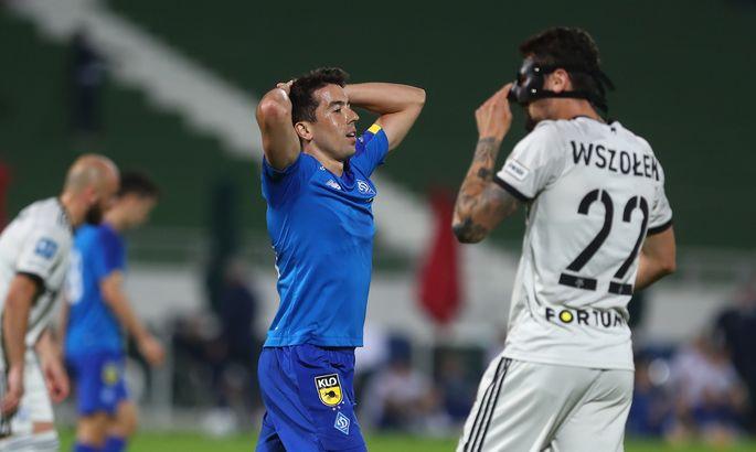 Первый спарринг комом. Динамо - Легия 0:2. Видео голов и обзор матча