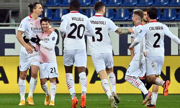 Златан снова берется за дело. Кальяри - Милан 0:2. Видео голов и обзор матча